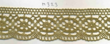 Dentelle en Lurex or 5cm