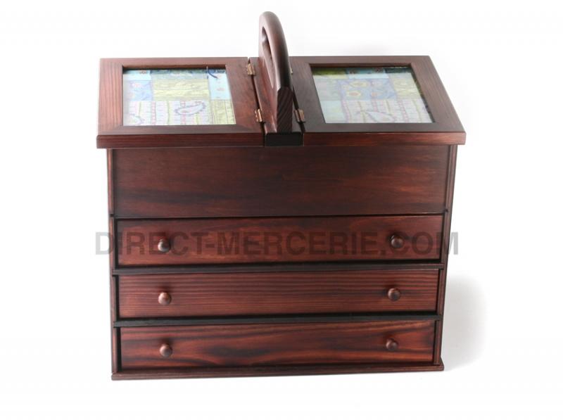 mercerie en ligne tous les accessoires de coutures travailleuse en bois qualit sup rieure m865. Black Bedroom Furniture Sets. Home Design Ideas