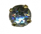 bouton strass cristal 10mm