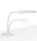 Lampe Daylight sur socle de table, blanc