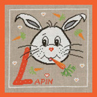 L comme lapin